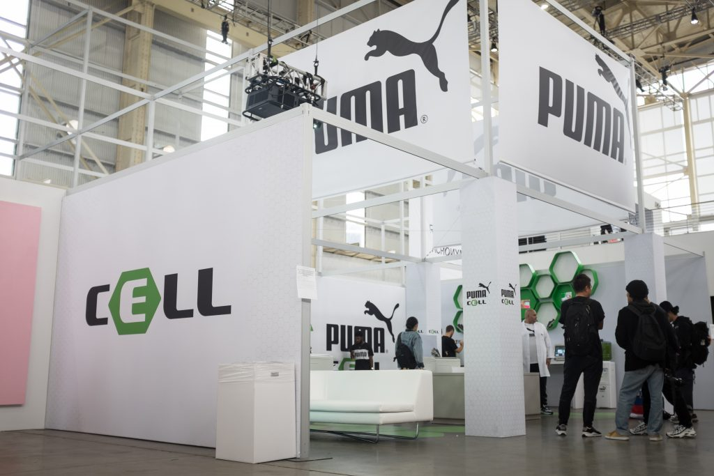 Puma Cell Booth HypeFest