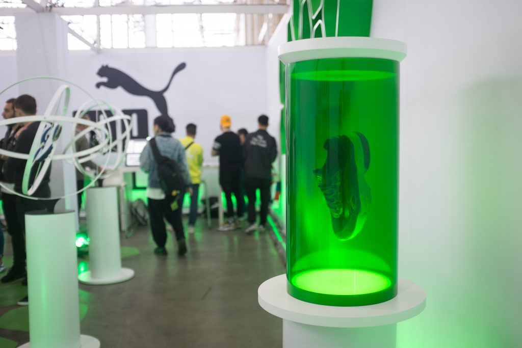 Puma Cell's Reveal During HYPEFEST