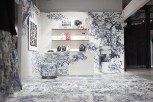 Dior Pop Up Blue room