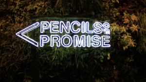 Pencils of Promise Neon Sign